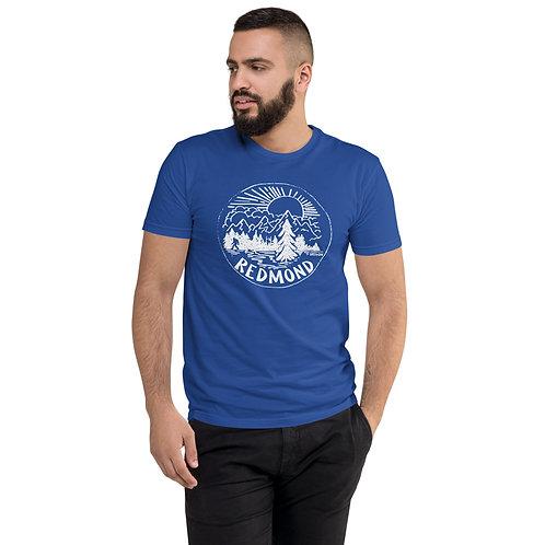 Sasquatch in Nature - Short Sleeve T-shirt