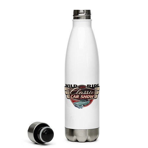 Wild Ride Classic Car Show c- Stainless Steel Water Bottle