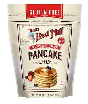 Bobs Red Mill Mix, Pan Cake, Gluten Free - 24 oz