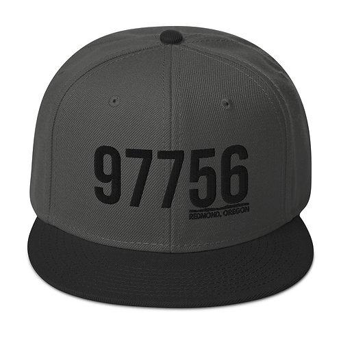 97756 Redmond, Oregon Snapback Hat