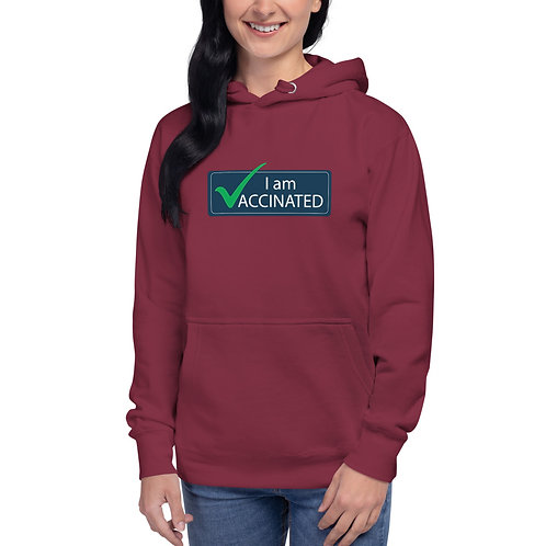 I am Vaccinated - VAXXED - Unisex Hoodie