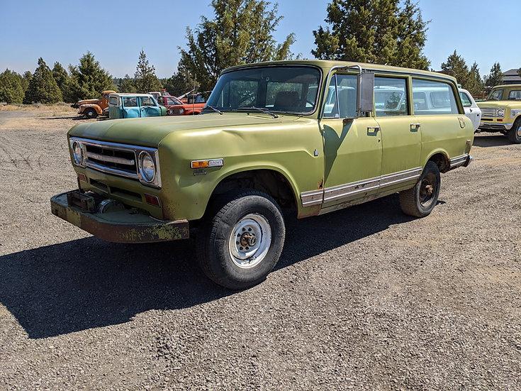 1969 International Harvester 1200 3/4 ton 4wd Travelall