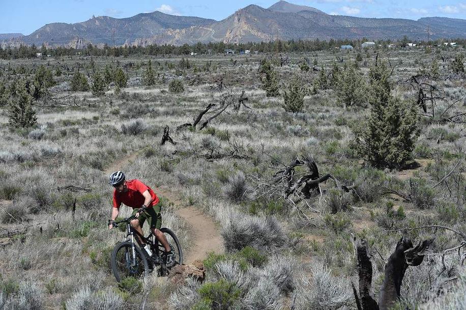 Radlands MTB Trails Redmond Oregon
