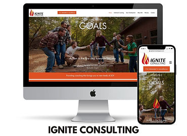 WEBSITE DESIGN ignite consulting REDMOND