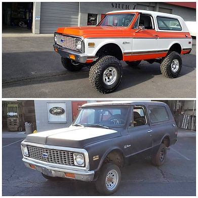 Retro Rides of Bend Truck Restoration