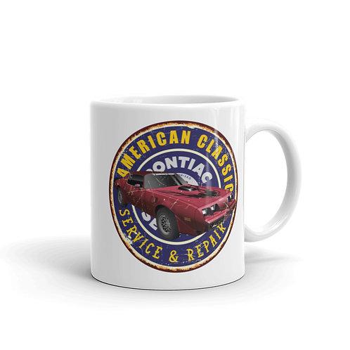 Pontiac Firebird - White glossy mug