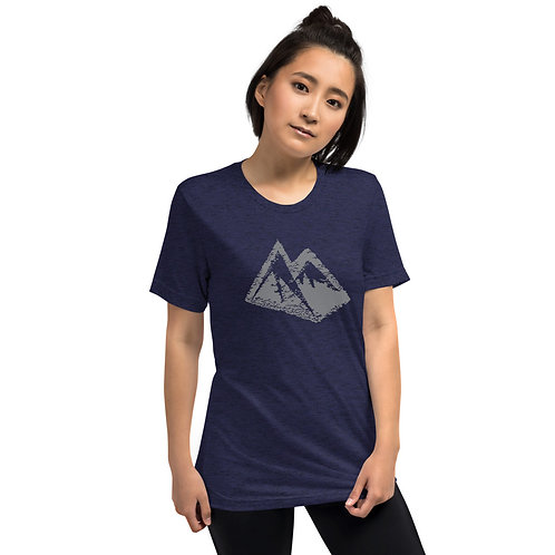 STMPO SKETCHY MOUNTAIN - Short sleeve t-shirt