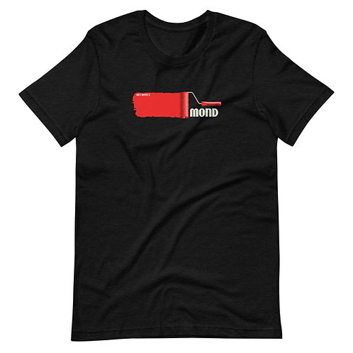Paint Redmond, Oregon Art Moves Short-Sleeve Unisex T-Shirt