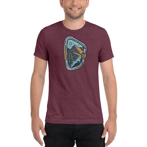 Carabiner Redmond, Oregon Climbing - Short sleeve t-shirt
