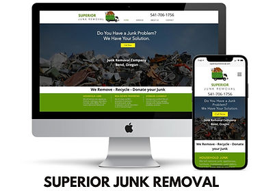 WEBSITE DESIGN JUNK REMOVAL COMPANY REDM