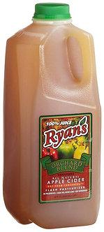 Ryan's Fresh Apple Cider 1/2 gallon
