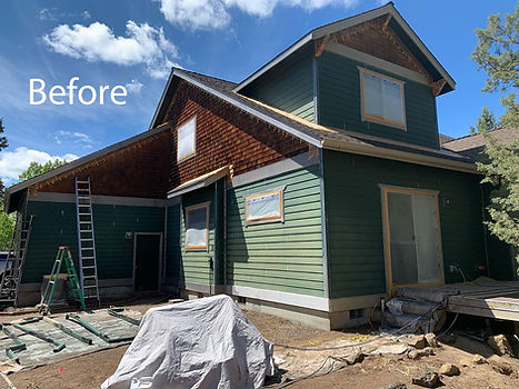 Redmond House Painting Company Before and After