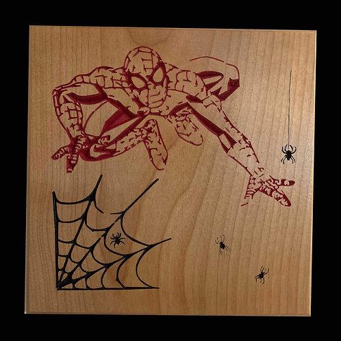 Spiderman Plaque