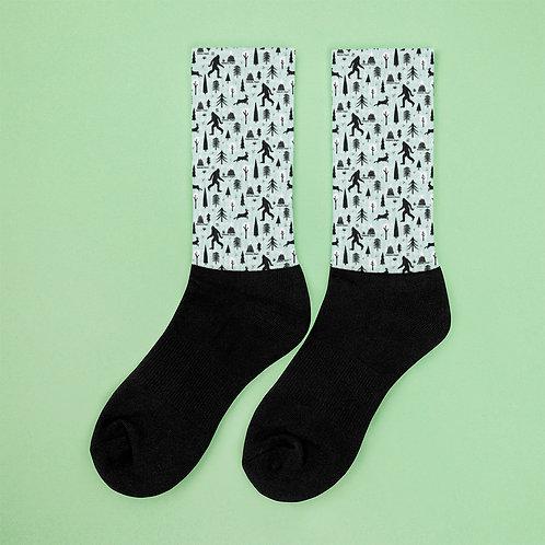 Bigfoot in Redmond, Oregon - Socks