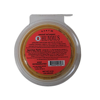 Roasted Red Pepper Hummus 8 oz