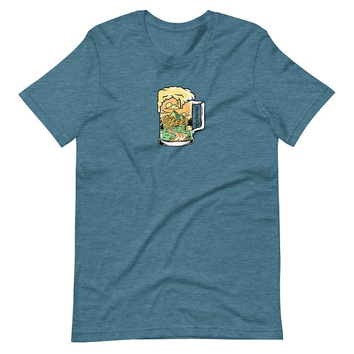 Redmond Oregon Beer - Short-Sleeve Unisex T-Shirt