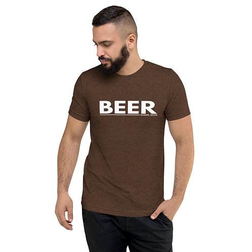 BEER Redmond Oregon - Short sleeve t-shirt