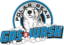 Polar Bear Gas & Wash Logo