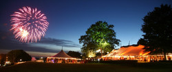 Outdoor Party Lighting perfect for wedding, graduation, religious event, festival, corporate event