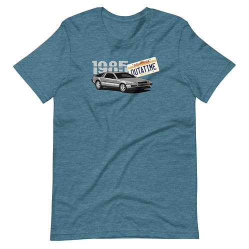 Back to the Future Delorean time machine Short-Sleeve T-Shirt