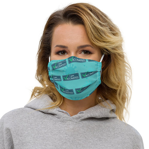 I am Vaccinated - VAXXED - Premium face mask