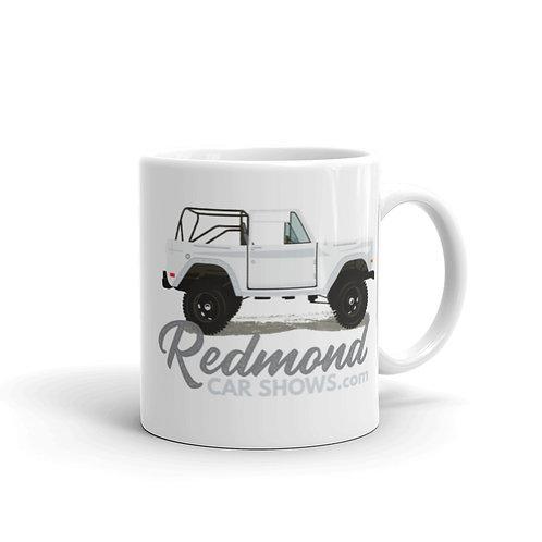 Ford Bronco - White glossy mug
