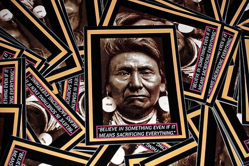 Sticker - Chief Joseph