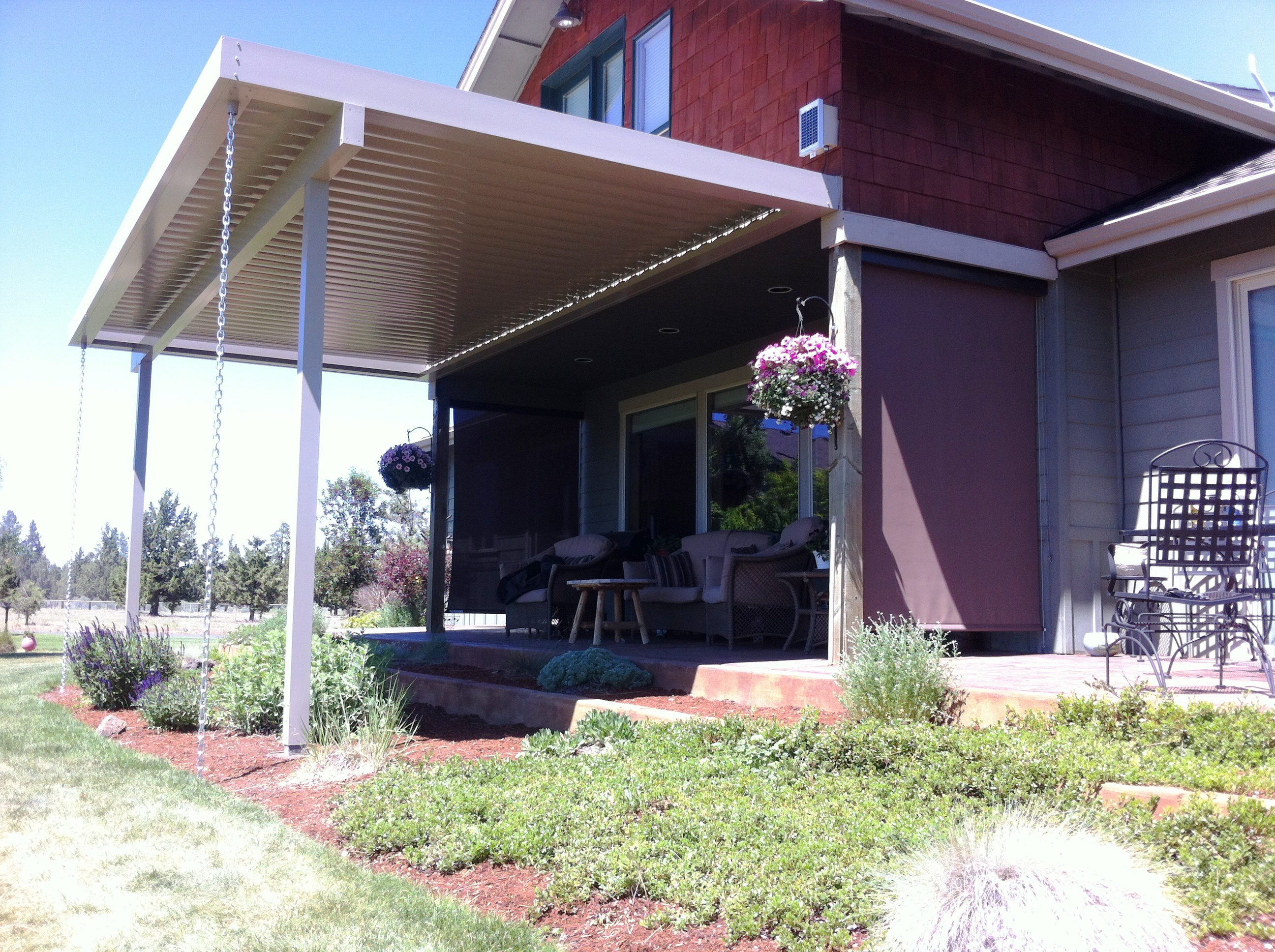Louvered Patio Cover Bend Oregon