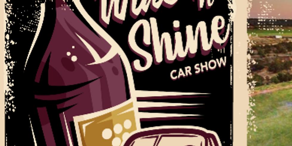 Wine 'n' Shine Car Show - 2020