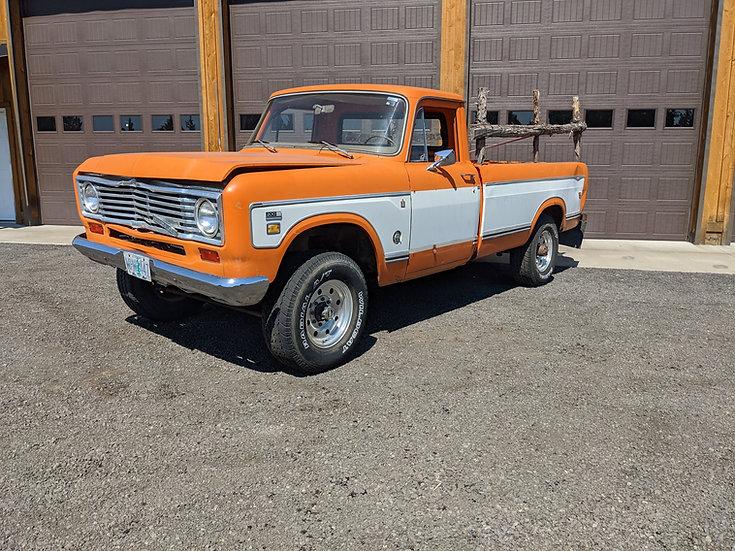 1974 InternationalHarvester D200 3/4 ton 4wd camper special pickup