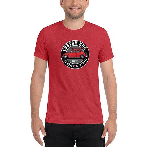 Classic VW Bug Beetle Red - Short sleeve t-shirt