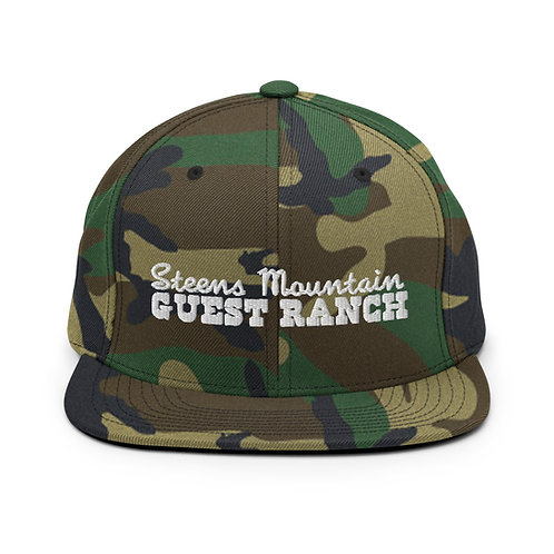 Steens Mountain Guest Ranch - Snapback Hat