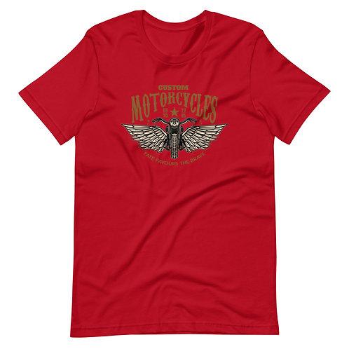 Vintage Motorcycles - Short-Sleeve Unisex T-Shirt