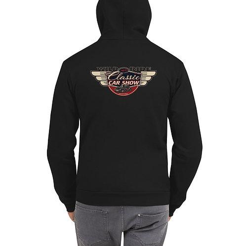 2019 Wild Ride Classic Car Show - Hoodie Zipper sweater