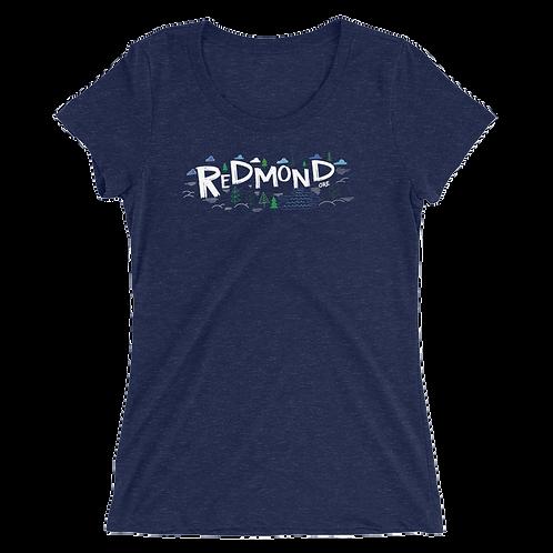 Redmond Nature - Ladies' short sleeve t-shirt
