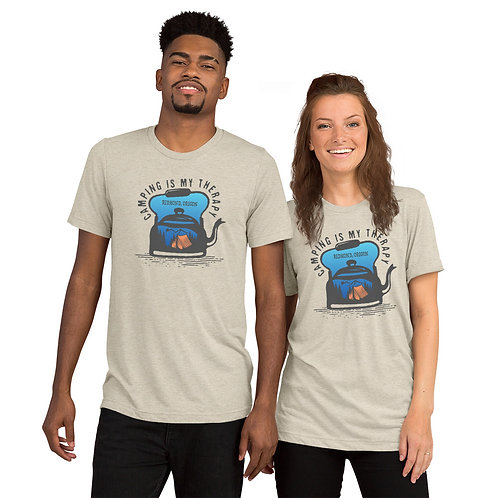 Camping is comfort - Short sleeve t-shirt