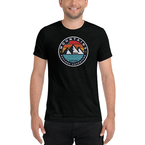 Three Sisters Mountains - Redmond, Oregon - Short sleeve t-shirt