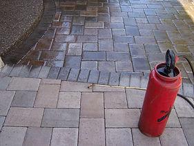 concrete paver sealing sealer bend oregon