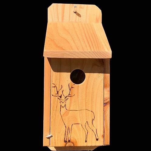 Flush Mount Deer Birdhouse