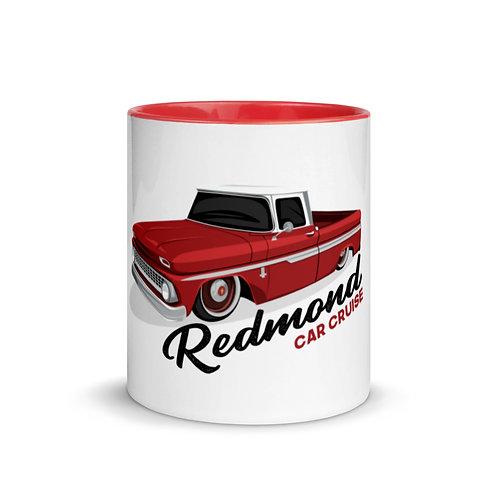 Redmond Car Cruise 2020 Mug with Color Inside