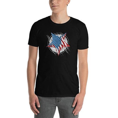 USA STAR - STMPO - Short-Sleeve Unisex T-Shirt