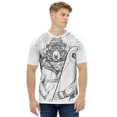 Snowboard Bear STMPO - Men's T-shirt