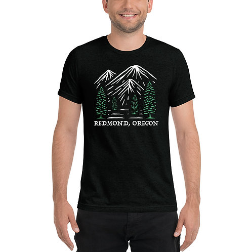 Go outside Redmond, Oregon - Short sleeve t-shirt