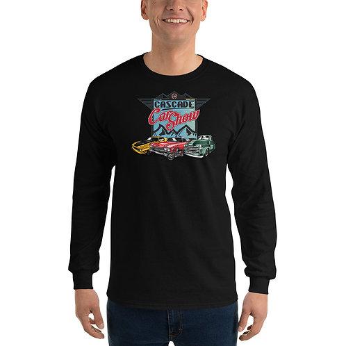 Cascade Car Show August 21, 2021 - Men's Long Sleeve Shirt