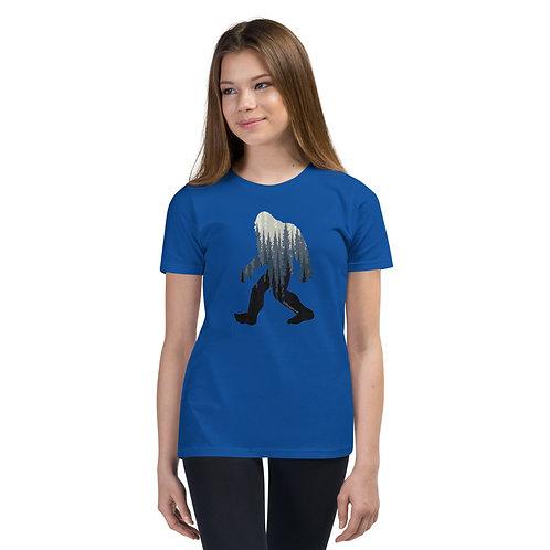 Bigfoot Trees - Youth Short Sleeve T-Shirt