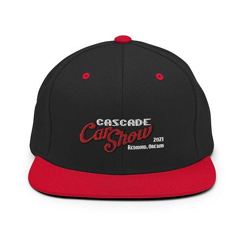 Cascade Car Show - Redmond Oregon - 2021 -Snapback Hat