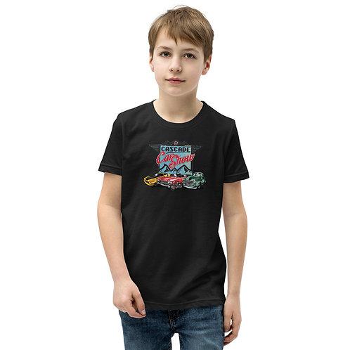 Cascade Car Show August 21, 2021 - Youth Short Sleeve T-Shirt