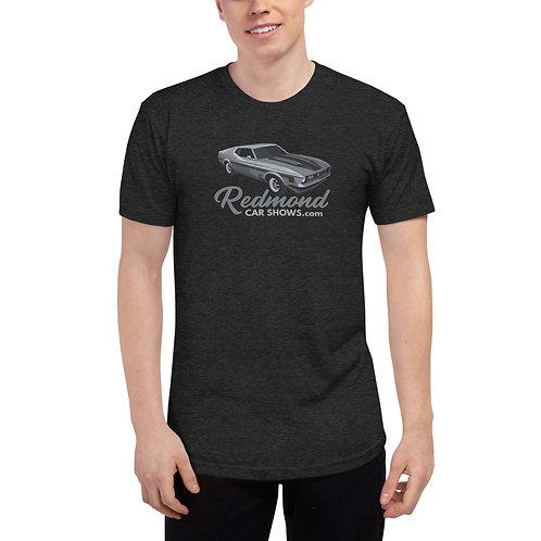 Mach 1 Mustang - Redmond Car Shows - Unisex Tri-Blend Track Shirt