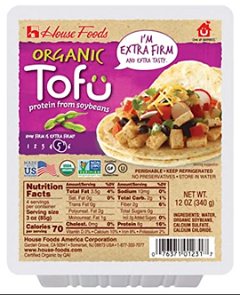 Extra Firm Organic Tofu 12 oz