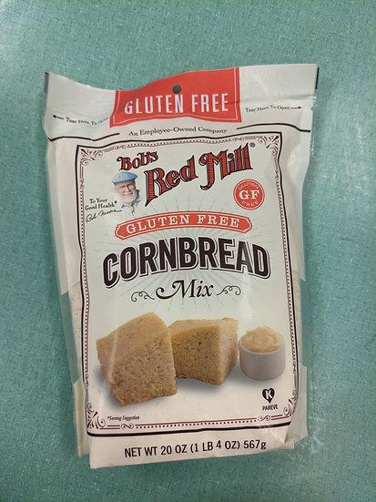 Bobs Red Mill Cornbread Mix Gluten Free - 20 oz